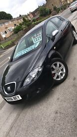 Seat Leon 1.6 Stylance Good Condition Low Mileage Bargain ONLY £2000