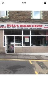 Fish and chip and Kebab shop abertillery