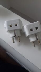 UK to EU plug adapters