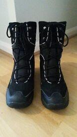 Men's Black Snow Boot Size 9/Europe Size 43