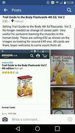 Trail Guide to the Body Flashcards. 4th Ed. Vol 2