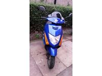 honda scv 100cc scooter. low miles. has been 100% reliable, mot 7-7-18
