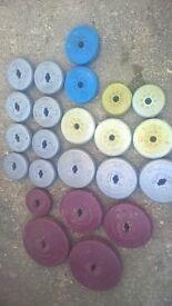 Vinyl weights around 70 kg