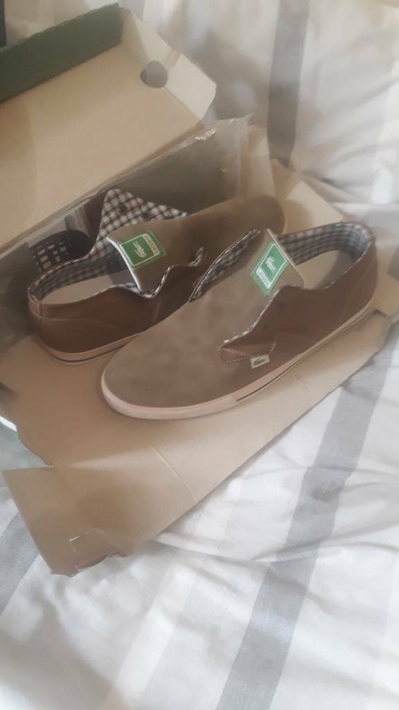Lacoste shoes size 8 genuine