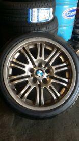 m3 alloy wheels staggerd