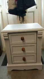 Solid Pine Large Bedside Cabinet