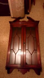 STUNNING BEVVAN FUNNELL DISPLAY CABINET