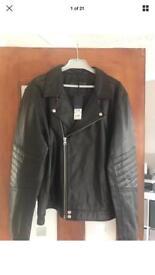 Large Next Men's Leather Jacket