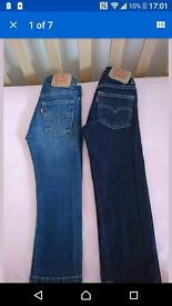 Two Pairs Boys Levi's Age 4