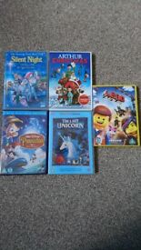 Children's Dvd used.