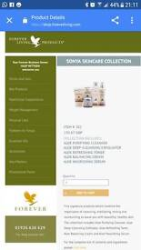 Sonya skincare collection. Brand new. 6 items in a presentation box