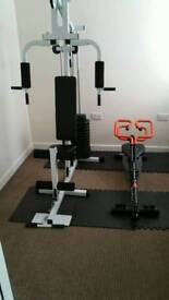 Multigym and Rowers