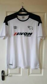 Almost new Derby County 17/18 home shirt