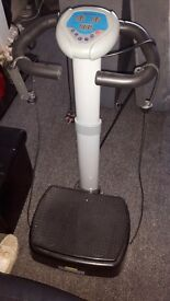 Vibro plate for sale excellent condition, selling due to not having space to store