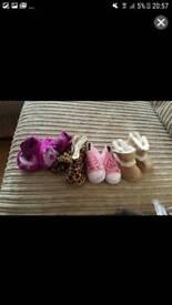 0-3months shoe bundle