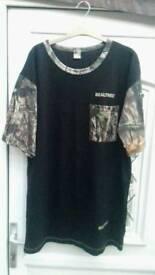 Real tree t shirt XXL