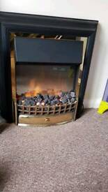 Fire place Dimplex CHT20 Cheriton Freestanding Optiflame Electric Fire