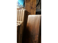 Solid Wood Oak Flooring, never used approx 7m2 worth