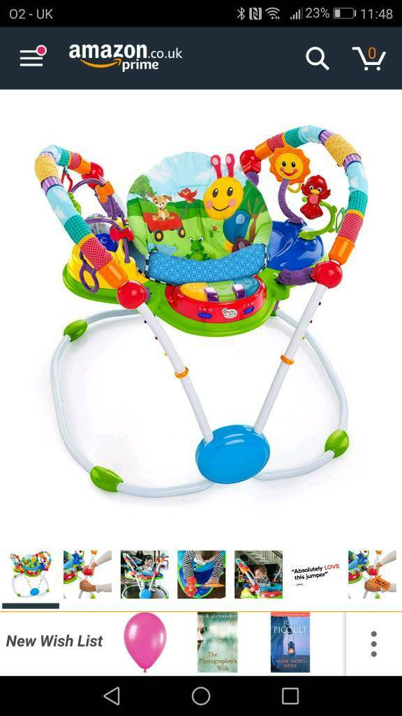 7714de4fa2f7 Baby Einstein baby bouncer