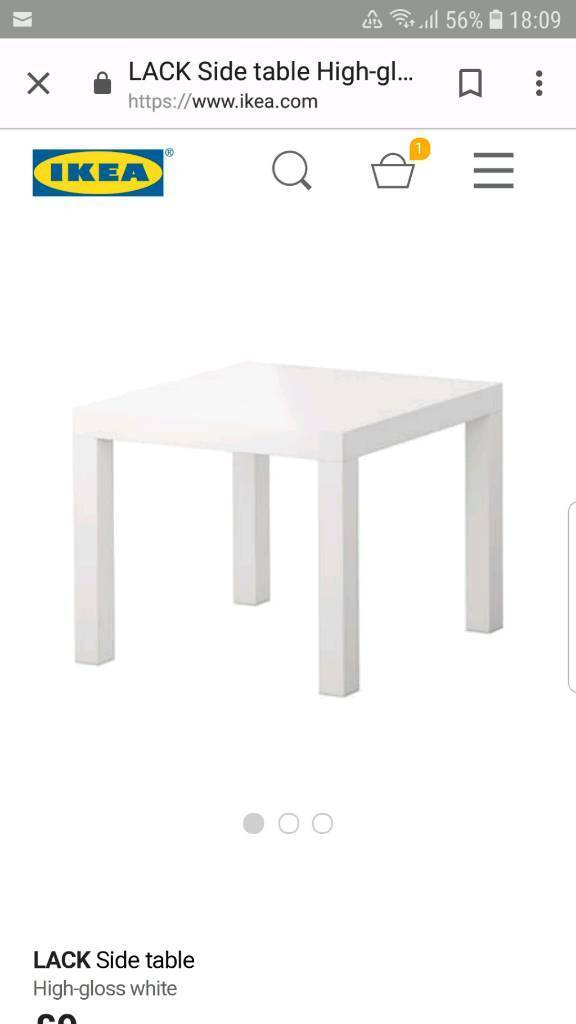 Ikea Wall Mounted Table And Side