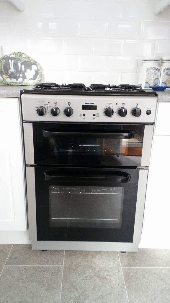 Bush Dual Fuel Double Oven