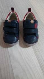 Clarks boys 4f first shoes