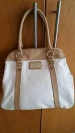 VERSACE JEANS PU Leather Hobo / Shoulder bag