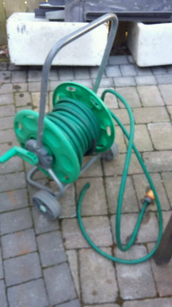 Hose & reel wind up case trolley wheel | in Hull, East Yorkshire ...