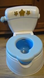 Musical Smart Potty by Safety First - sings, congratulates, lights up and flushes!