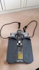 Mini Stepping Machine with Resistance Cords.