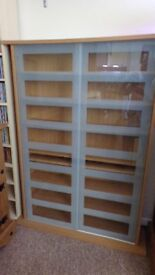 large display media cabinet