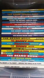 Vintage Children's Annuals Beano Dandy Bash Street Kids etc