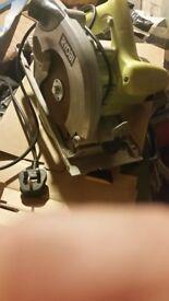 Ryobi ews12 1250w moter 230 volt.