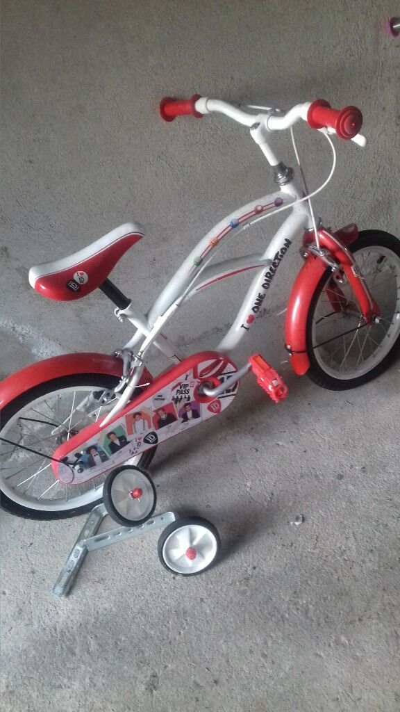 Childs One Direction Bike With Stabilizers In Portadown County
