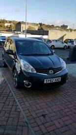 NISSAN NOTE AUTOMATIC black colour