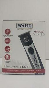 Wahl Professional Chromini T-Cut Cordless Trimmer Great for Barbers and Stylists -Item is Refurbished but was not used