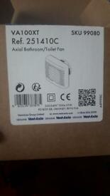 Vent axia bathroom fan