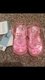 Baby girl Minnie sandles