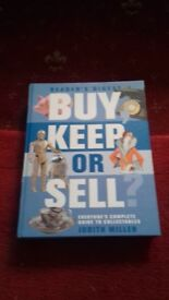 New Hardback BUY KEEP OR SELL
