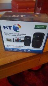 BT Broadband Extender Flex 500 Kit BNIB