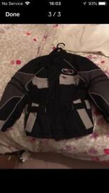 motorcycle jacket ( child)