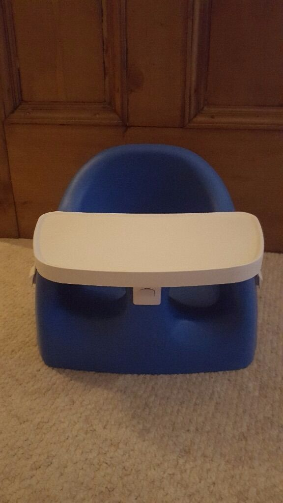 Bumbo style baby feeding chair (make is Karibu from Kiddicarein Leicester, LeicestershireGumtree - Bumbo style baby feeding chair. This make is Karibu. I found them better than bumbo. The trays clip off for easy washing and little ones cant get out of them as they clip securely! Good clean used condition. From a pet and smoke free home. I have two...