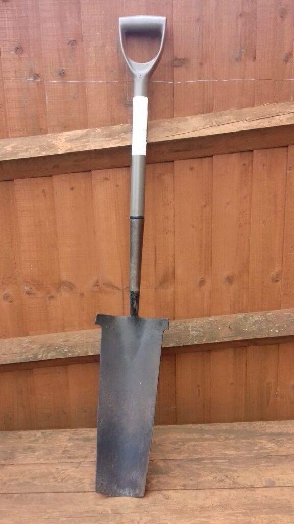 Post Hole Digging Garden Spade