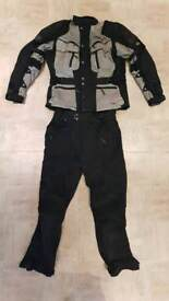 Hein Gericke gortex motorbike jacket and trousers