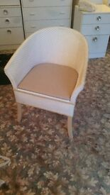 Bedroom chair with built-in Commode.