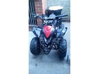 90cc quad mint condition