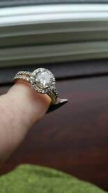 """tru diamonds: SIZE P RING"