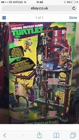 Ninja turtle sewer