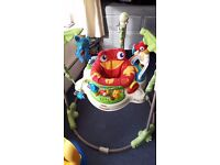 Jumperoo fisher price rainforest excellent condition