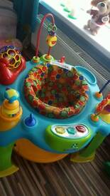 Baby activity centre play gym